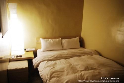 我們的雙人房,床很舒服喔!