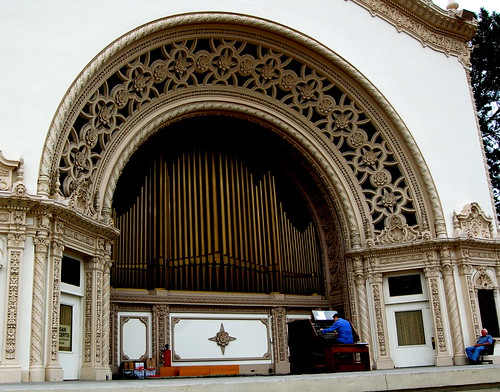 Largest Outdoor Organ