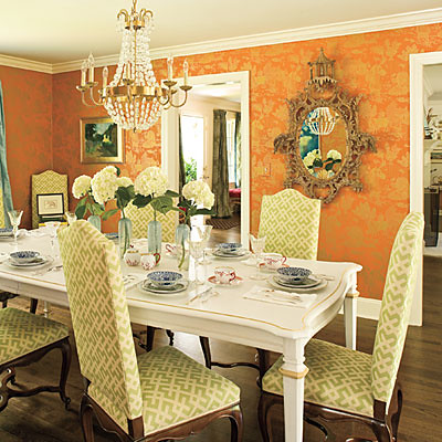Megan Young Pinehurst dining room Southern Living