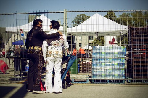 Ebony + Ivory, Elvis edition (Collingwood, ON)