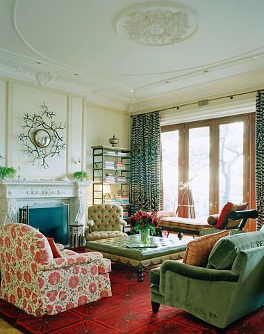 Ellen Hamilton living room