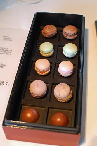 Mini Macarons and Chocolates
