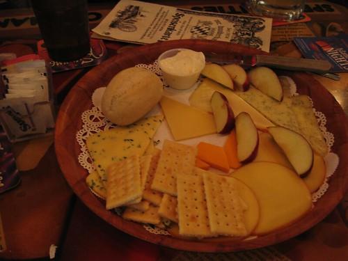 weak cheese platter