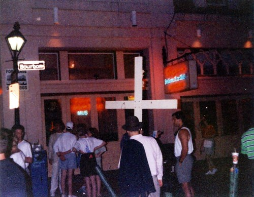 The cross on Bourbon St.