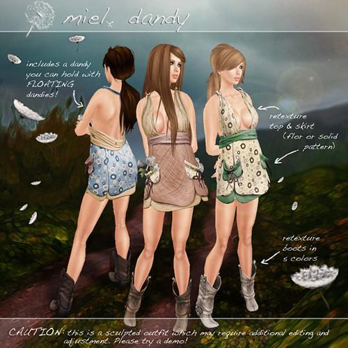 Dandy Dress Miel