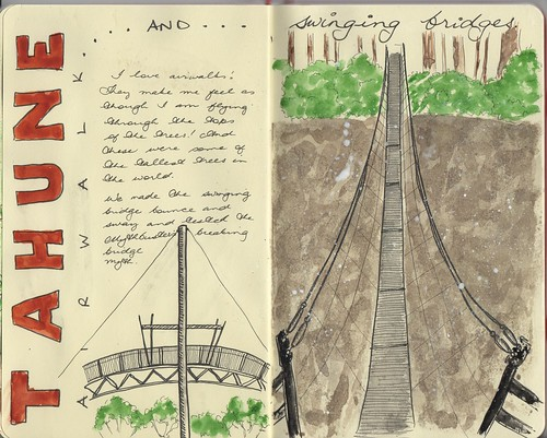 Tahune Airwalk and swinging bridges