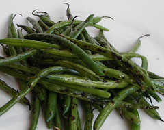Grilled Haricot Verts
