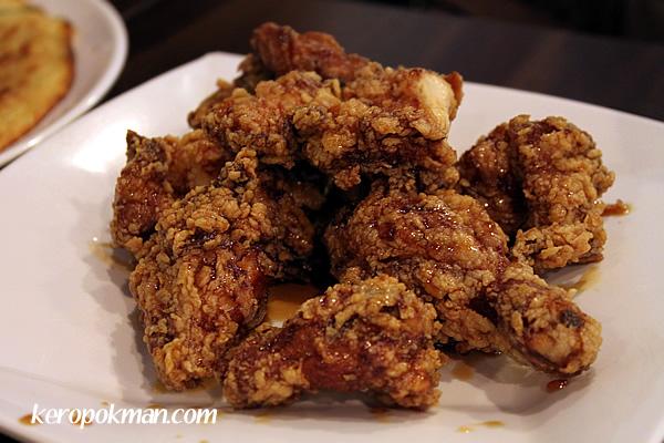 Garlic Soy Fried Chicken
