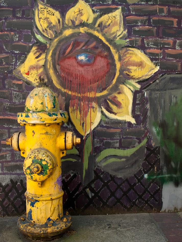Mural,  Hydrant