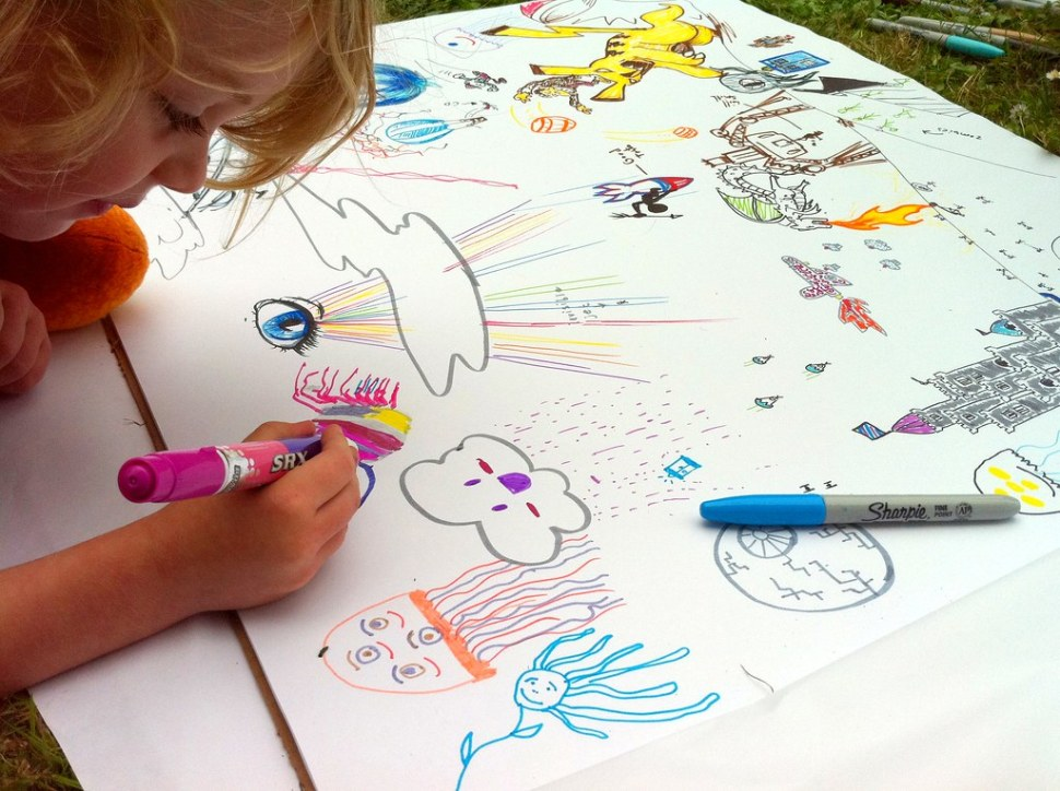 Boing Boing Picnic: Drawing Board