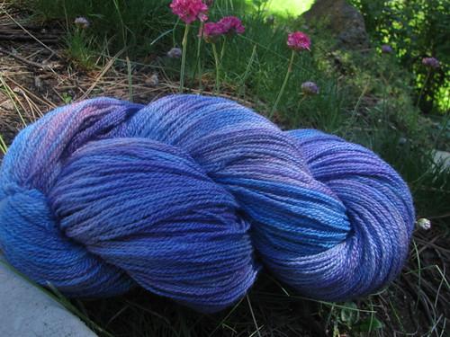 JMM Silk Blend Lace - Violet/Blue