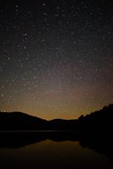 Stars Reflecting Mountain Lake