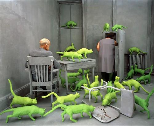 Radioactive Cats by Sandy Skoglund