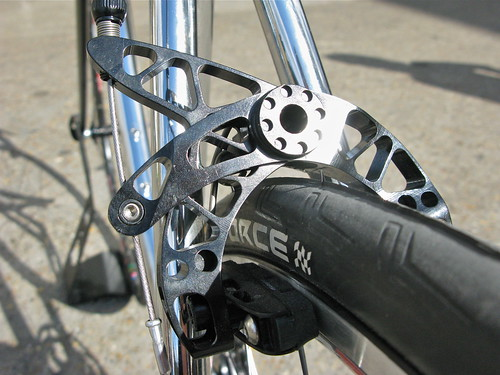 duncan's chrome road bike
