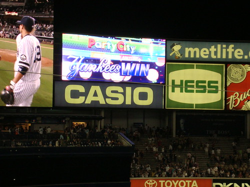 Yanks Win!