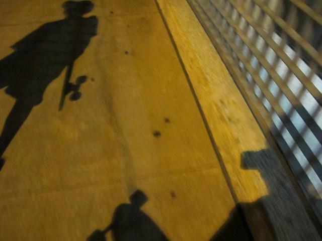 Longboarding Shadows