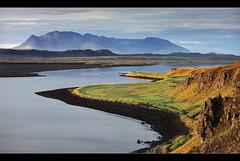 River Outlet - Húnavatnssýsla, Iceland by orvaratli
