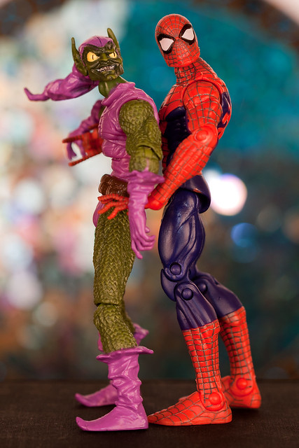 Green Goblin and Spider-Man Go to Prom