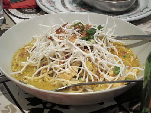 Coconut and Chicken Noodles