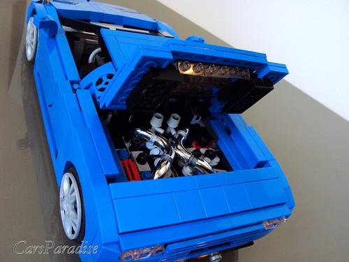 Bugatti EB110 SS - engine cover