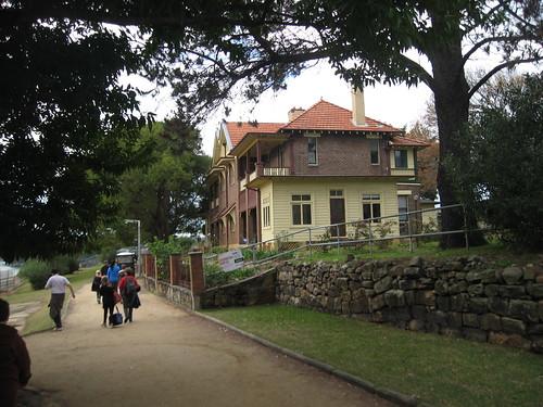 Federation era duplex on Cockatoo Island