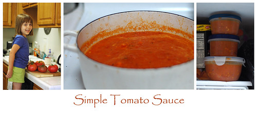 Tomato Sauce Triptych