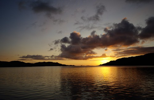 Loch Moidart sunset