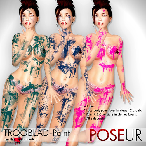 POSEUR - Trooblad paint layers