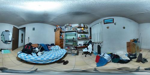 Mi cuarto, desordenado