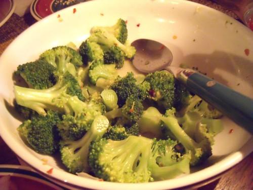 Sesame & Lime Broccoli