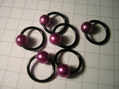 Stitchmarkers pink