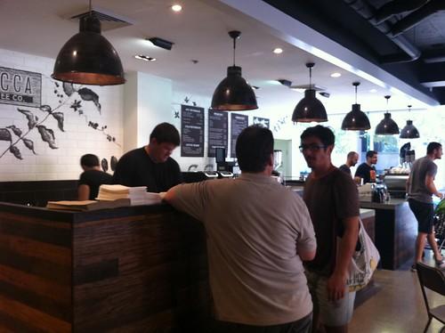 a big counter - mecca espresso, ultimo