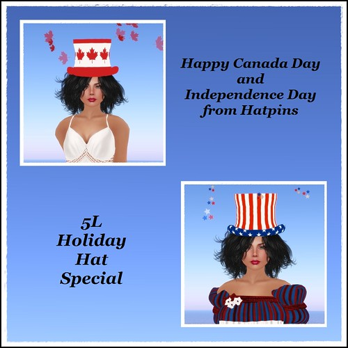 Hatpins - 5L Holiday Hats Special