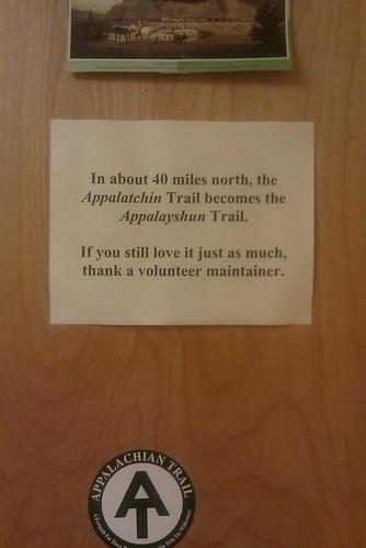 "It's ""Appalatchin,"" thank you very much."