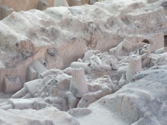 Terracotta warriors Broken Pieces