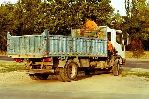 Camión con aire clásico