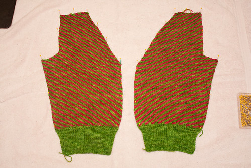 Jumper Cardigan - Left/Right Fronts