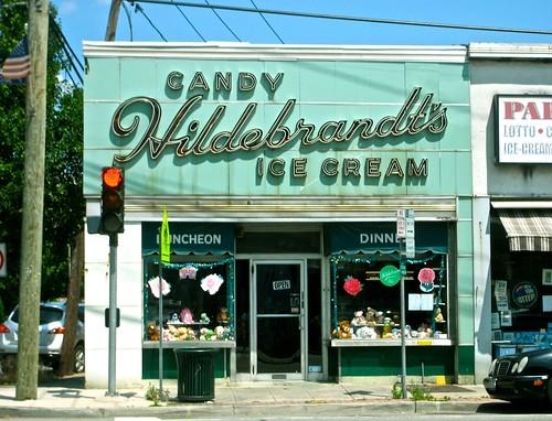 Hildebrandt's Candy Ice Cream Burgers Luncheonette