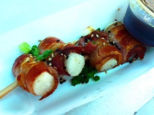 Ahn Joo Bacon Rice Cylinders