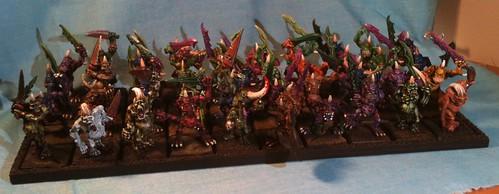 Horde of 40 Nugle Plaguebearers