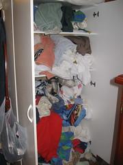 The linen cupboard