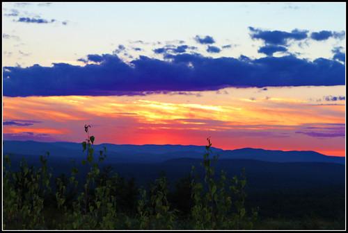 New Hampshire sunset