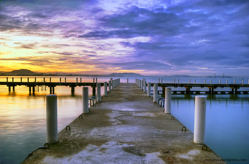 Morning View - Sungai Pinang Jetty