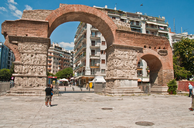 The Arch of Galerius, Thessaloniki
