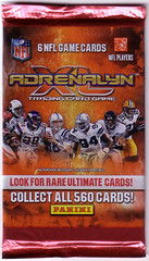 2010 Panini Adrenalyn XL pack