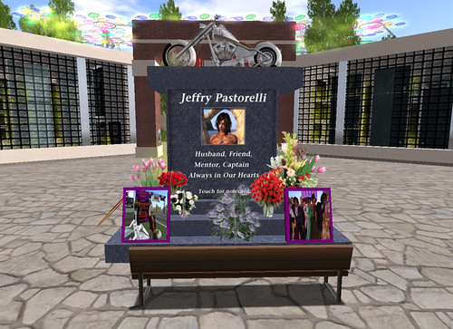 Jeffry's Memorial at Remembering Our Friends