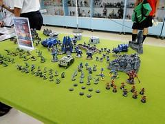 新竹動漫祭 模型區內戰棋遊戲