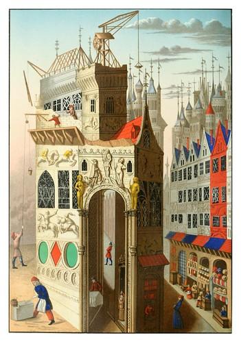 013-Una calle en el siglo XV-Le moyen äge et la renaissance…Vol III-1848- Paul Lacroix y Ferdinand Séré