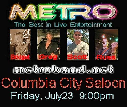 Columbia City Saloon 7-23-10