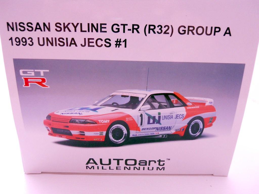 auto art unisia jecs nissan skyline R32 (5)